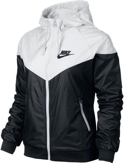 Jaket Nike Sweater Nike nike windrunner s jacket windbreaker hoodie black white 545909 011 ebay
