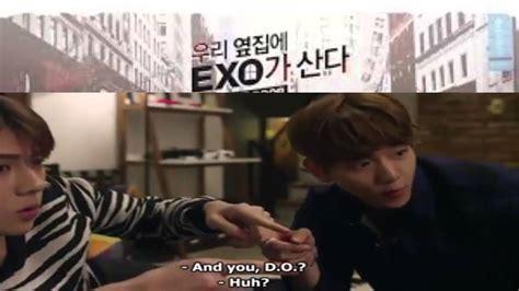exo next door ep 2 exo next door episode 2 eng sub exo next door youtube