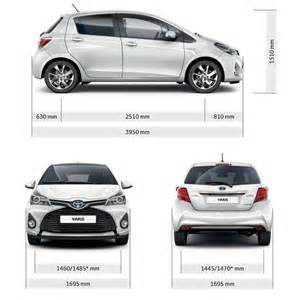 Length Of Toyota Elrizk Auto Toyota Yaris Hatchback