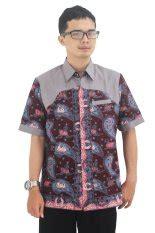 Baju Koko Ihsan Motif Batik jual baju muslim pria terbaik termurah lazada co id