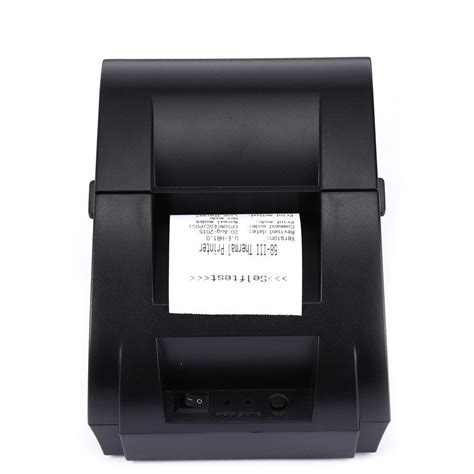 Taffware Pos Thermal Printer 57 5mm Zj 5890k Murah tricome zj 5890k usb pos receipt thermal printer 58mm portable eu black buy jumia