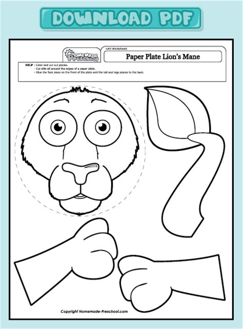 Printable Art Worksheets For Preschoolers | coloring pages art worksheets for preschoolers art