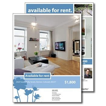 for rent flyers templates for rent flyers