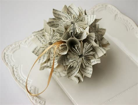 Make Paper Ornaments - book page ornaments 22 upcycled ideas