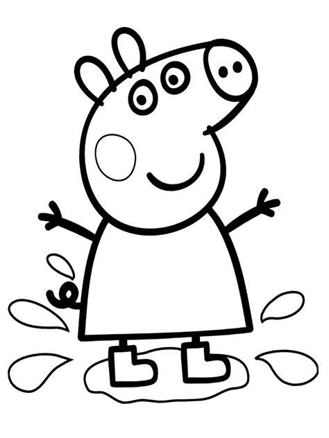 peppa pig para colorear pintar e imprimir dibujos peppa pig para colorear cuentoslargos com