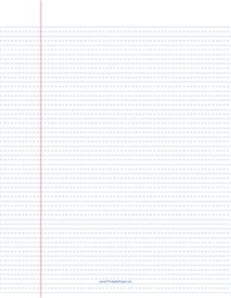 printable wide ruled paper with dotted lines paper templates on pinterest graph paper perpetual