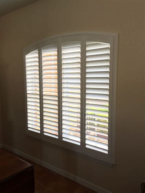 eyebrow arch window coverings 1000 images about shutters on patio