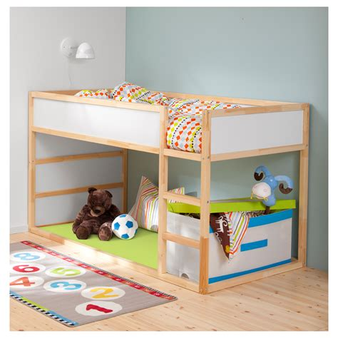 childrens headboards uk kura reversible bed white pine 90x200 cm ikea