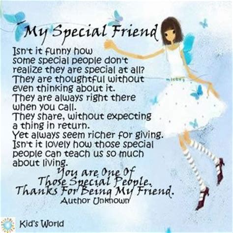 quotes for special friend special friend quotes inspirational quotesgram
