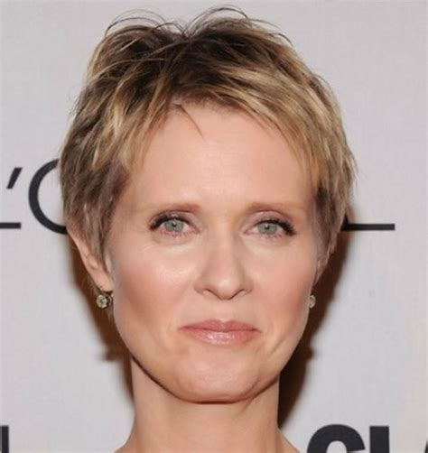 hair styles age of 35 messy pixie short hairstyles over 60 age women