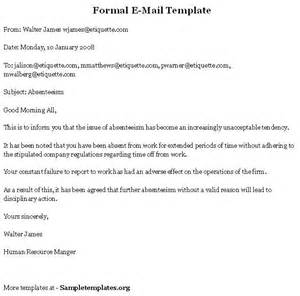 Formal Letter Format O Level Formal Email Format Search Business Documents Search