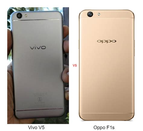 Lcd Vivo V5 vivo v5 vs oppo f1s comparison review