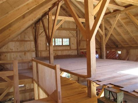 timber frame barn  landgrove vermont