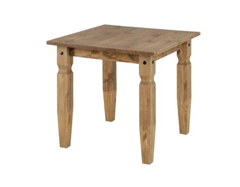 Square Pine Dining Table Corona Square Pine Dining Table By Products