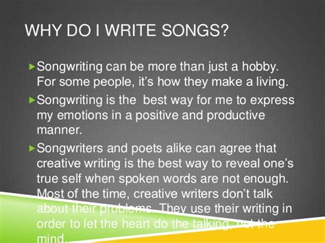 how to make a song how to write a song