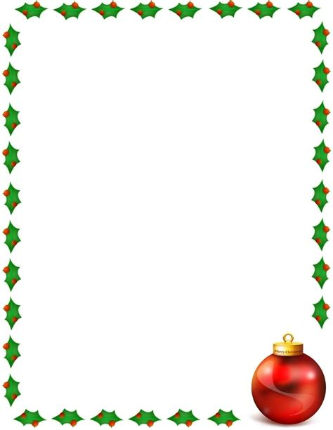 Free christmas page border and clipartamp health