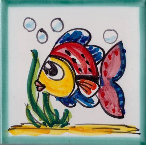 piastrelle vietri prezzi mattonella vietrese in ceramica di vietri piastrella pesce