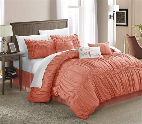 bed sets peach colored comforters bedding sets