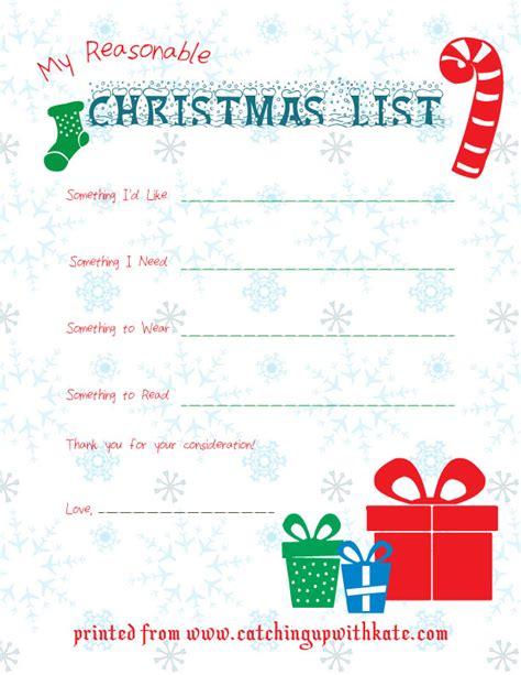 printable christmas list want need wear read christmas printable free christmas list printable
