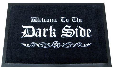 felpudo en ingles felpudo con mensaje quot bienvenido al lado oscuro quot en ingl 233 s