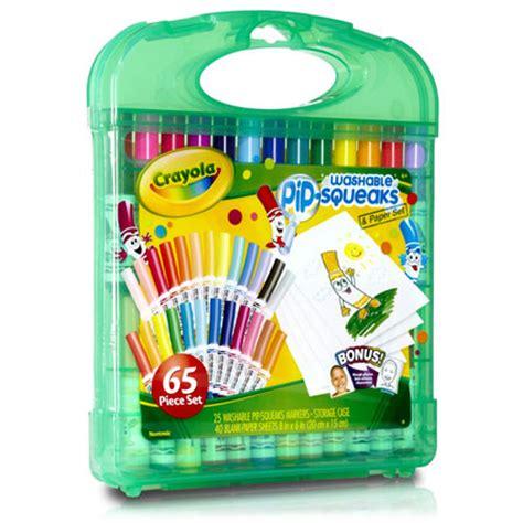 Crayola Washable Pip Squeaks Kit crayola washable pip squeaks kit 25 ct