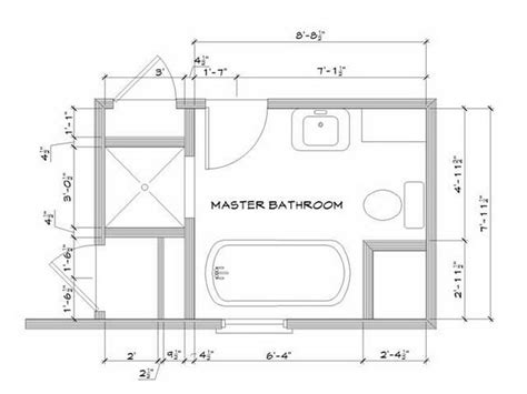How To Design A Bathroom Floor Plan by Master Bathroom Layouts Inspiring Floor Plan Master