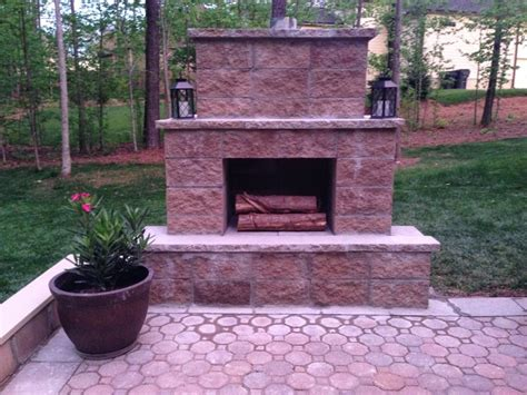 add a outdoor room to home 12 outdoor fireplace plans add warmth and ambience to