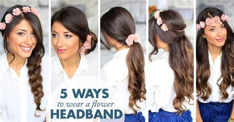 5 Tips For Wearing Headbands This Seasons Accessory by Five Ways To Wear A Floral Headband Accessory For