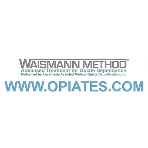 Waismann Rapid Opiate Detox by Waismann Method 174 Rapid Detox Responds To Mental And
