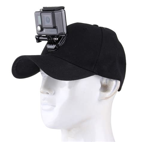 outdoor sun hat topi baseball cap with stand holder