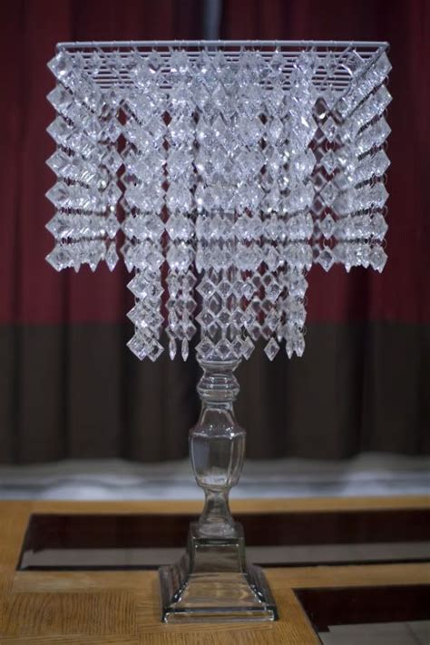 wedding centerpieces chandelier my diy chandelier centerpiece planning project wedding forums diy metal