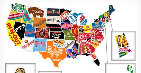 Mapping America's Most Noteworthy Restaurant Chains   Thrillist