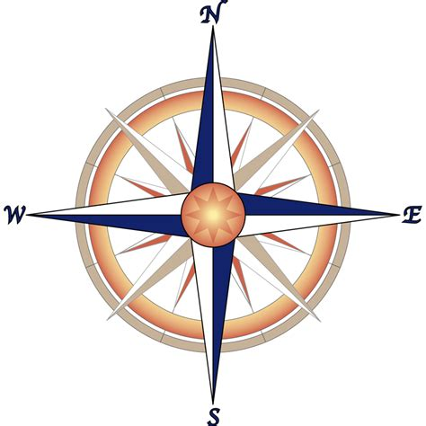 compass graphics compass b w free vector 4vector