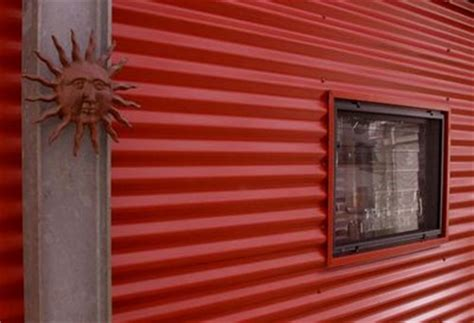 House Entrance Ideas corrugated iron cladding house cladding ideas