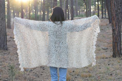 Sedona Serenity Knit Shawl Pattern In A Stitch