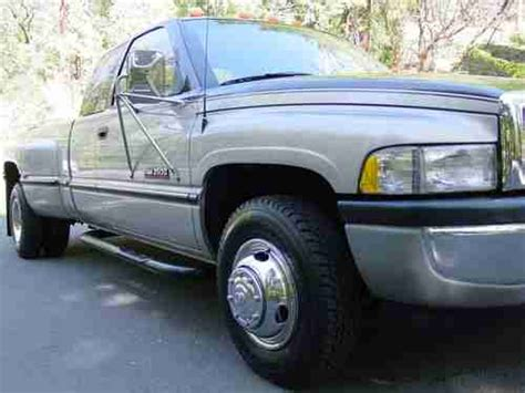 electric and cars manual 1997 dodge ram 3500 club security system sell used 1997 dodge ram 3500 12 valve cummins turbo diesel only 72k miles 5 speed dually in