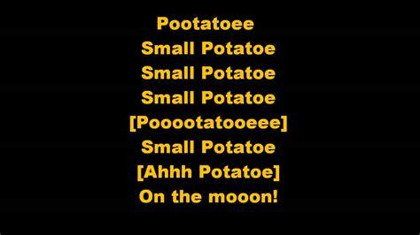 in the next room lyrics cbeebies small potatoes lyrics