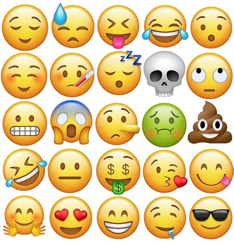 imagenes de emoji para descargar 70 emojis de iphone ios 10 png en alta resoluci 243 n