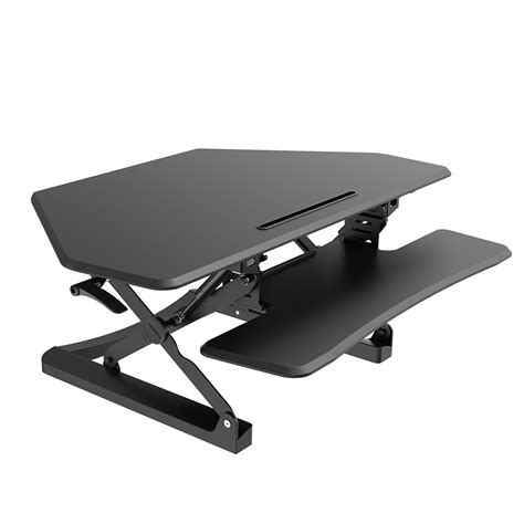 bell o adjustable height desk arise deskalator height adjustable portable