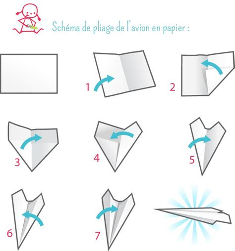 Origami Avion - avion en papier origami kid activities and craft