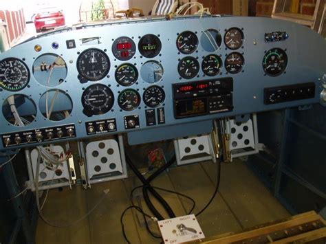 Garage For Rv vans rv 7 aircraft instrument panel