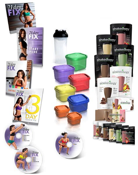 21 day fix challenge 21 day fix challenge pack from forks to fitness