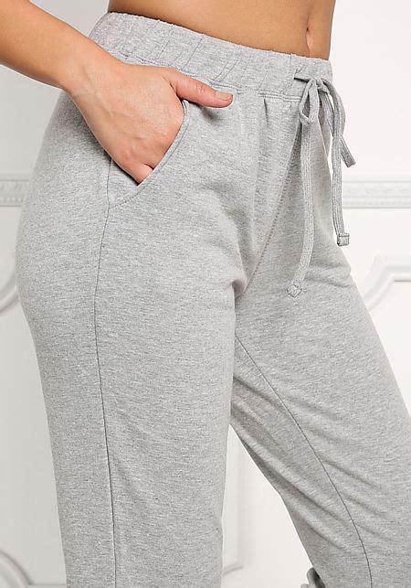 Sale Celana Jogger Grey grey solid jogger