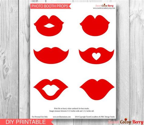printable photo booth props lips best photos of photo prop printable lips free printable