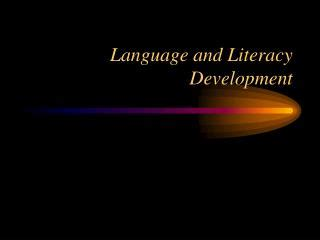 developing language and literacy 184787083x ppt child development language and literacy powerpoint presentation id 393705