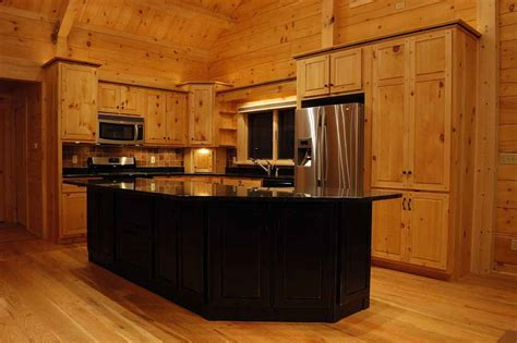 Kitchen Pine Cabinets Crafted Solid Pine Kitchen Cabinets Mitrick