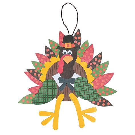 thanksgiving craft kits for turkey craft kit makes 12 trading