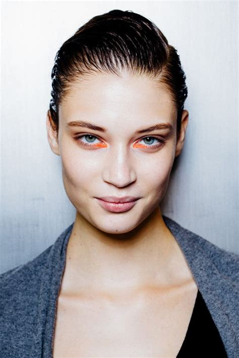 Runway Backstage At Som by 54 Best On Trend Slicked Back Images On