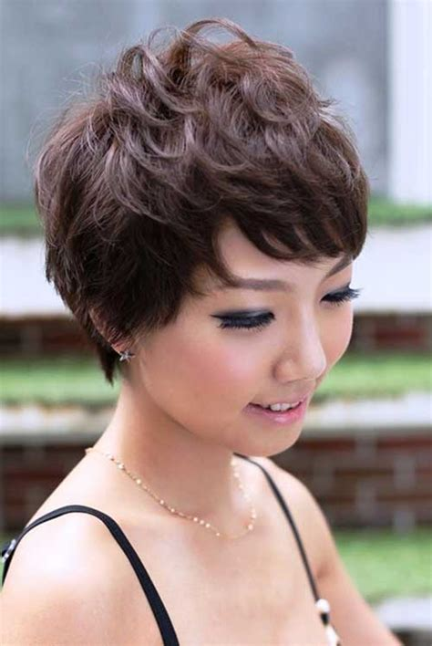 haircut styles for asian with thin and wavy ahir 25 wavy pixie cuts pixie cut 2015