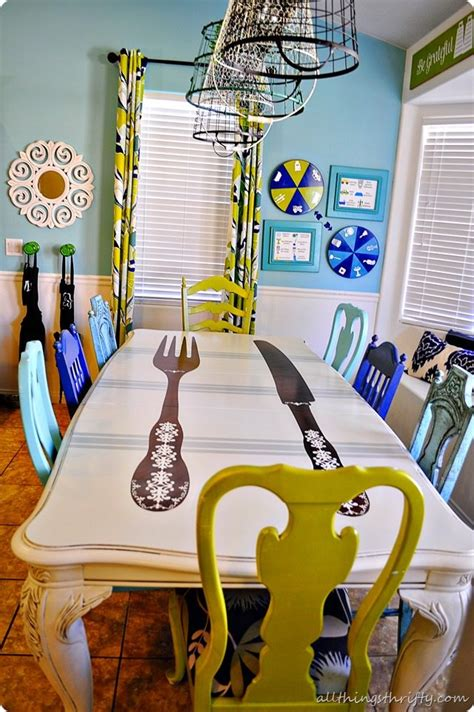 How To Paint A Dining Room Table How To Paint Furniture With Lacquer